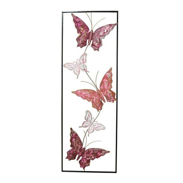 """HTI-Line Wanddekoobjekt """"Wanddeko Silhouette Schmetterling"""" (1 Stück)"""