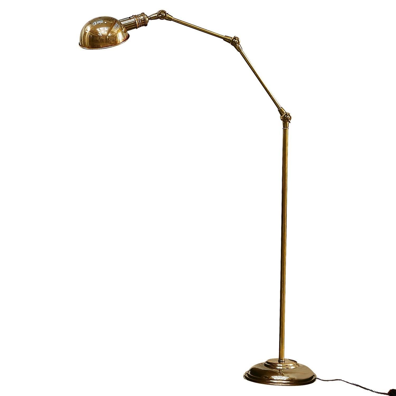 LOBERON Stehlampe Tulsa, messing (171cm)