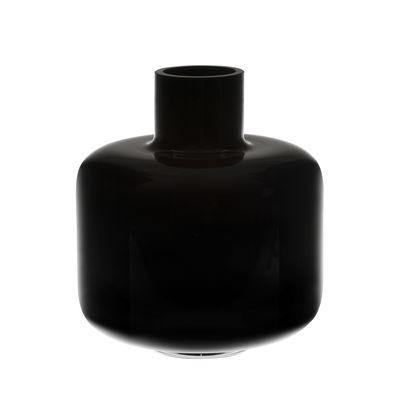 Ming Vase / Glas - Ø 22 x H 24 cm - Marimekko - Schwarz