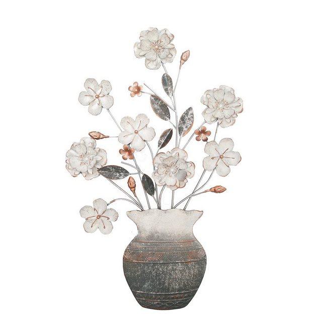 "NTK-Collection Wanddekoobjekt ""Wanddeko Blumenvase"" (1 Stück)"