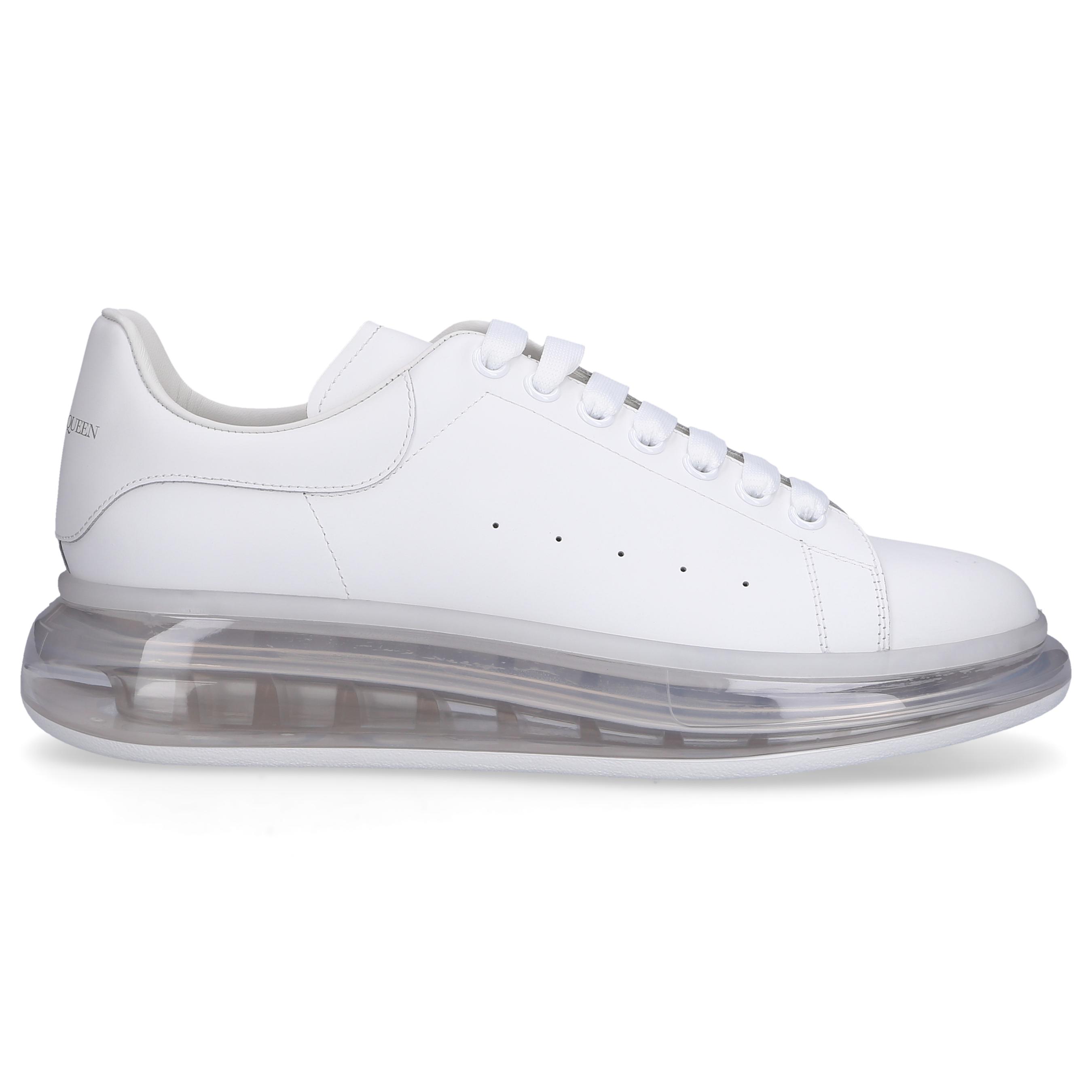 Sneaker low LARRY Kalbsleder Logo schwarz weiß