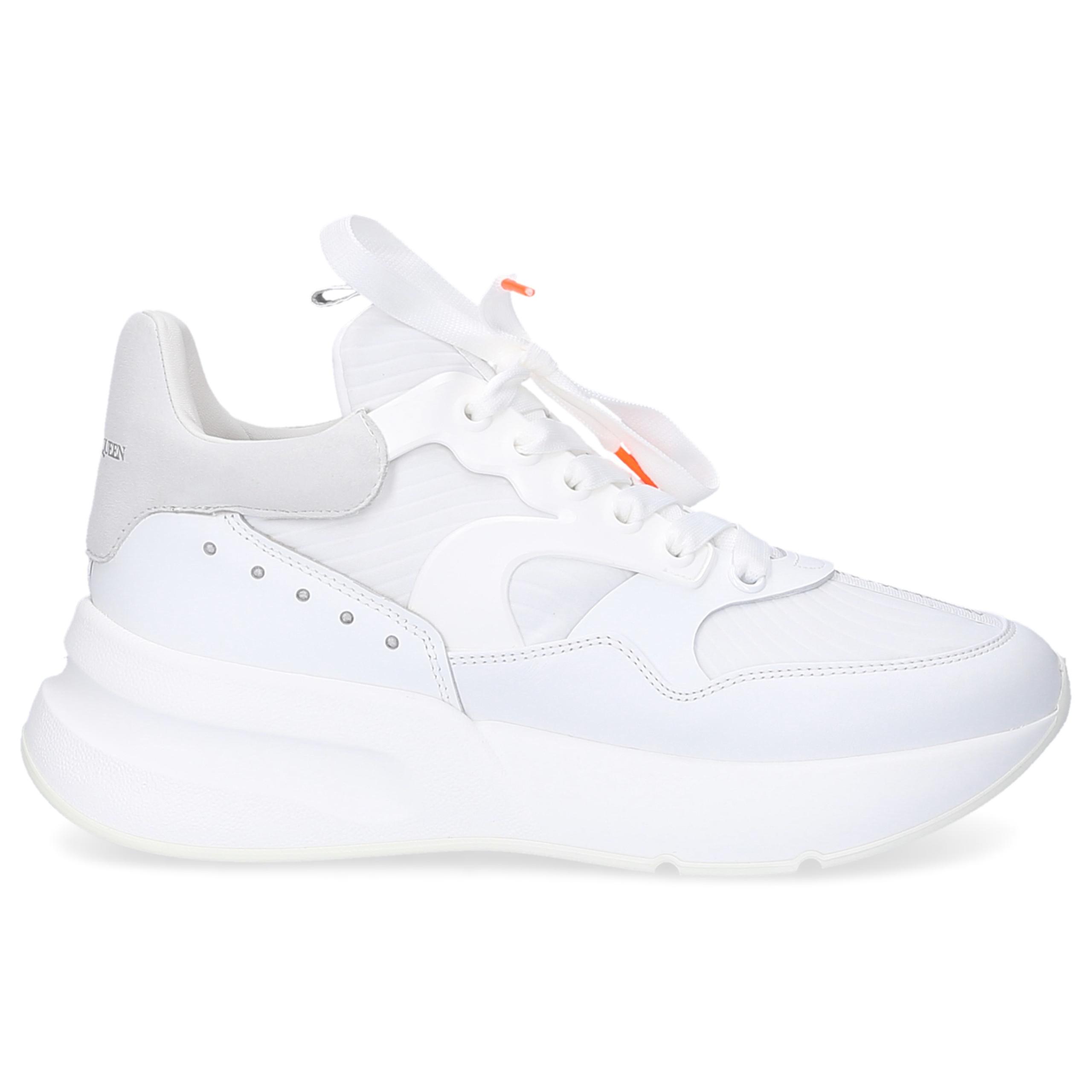 Sneaker low WHXI Kalbsleder Logo weiß