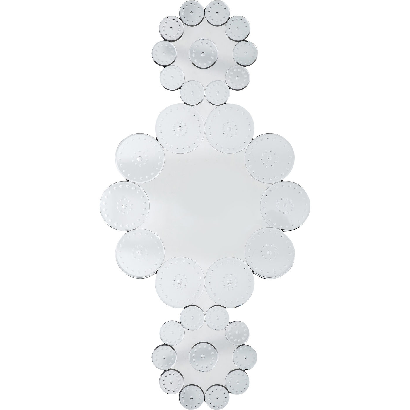 Spiegel Ice Flowers 194x102cm
