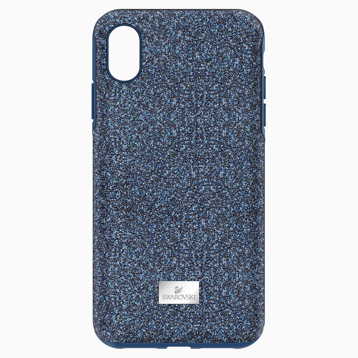 Swarovski High Smartphone Case with Bumper, iPhone® XS Max, Blue