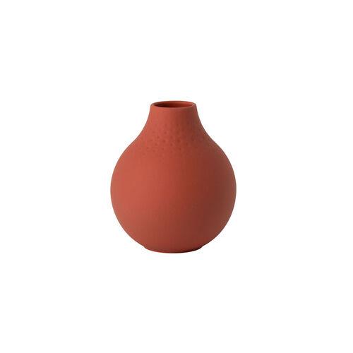 Villeroy & Boch Vase Perle klein Manufacture Collier terre, rot, 110