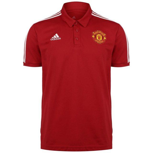 "adidas Performance Poloshirt ""Manchester United 3-streifen"""
