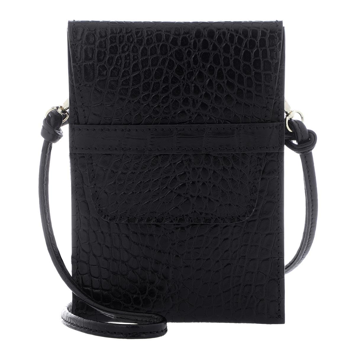 Abro Umhängetasche - Phone Case Camilla Black - in schwarz - für Damen