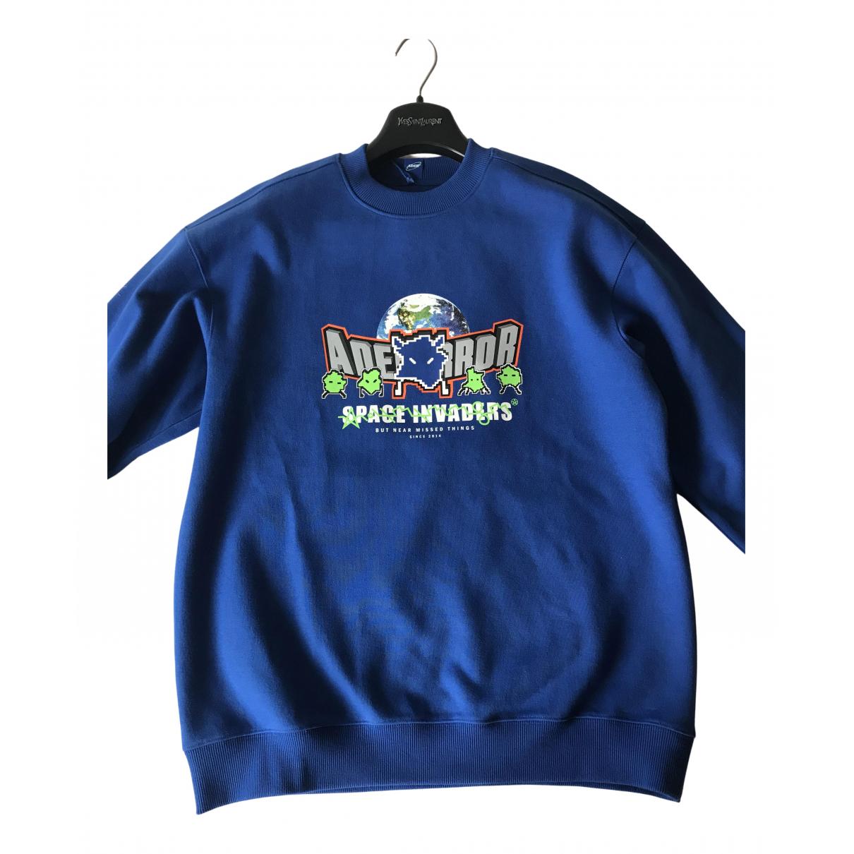 Ader Error N Blue Cotton Knitwear & Sweatshirts