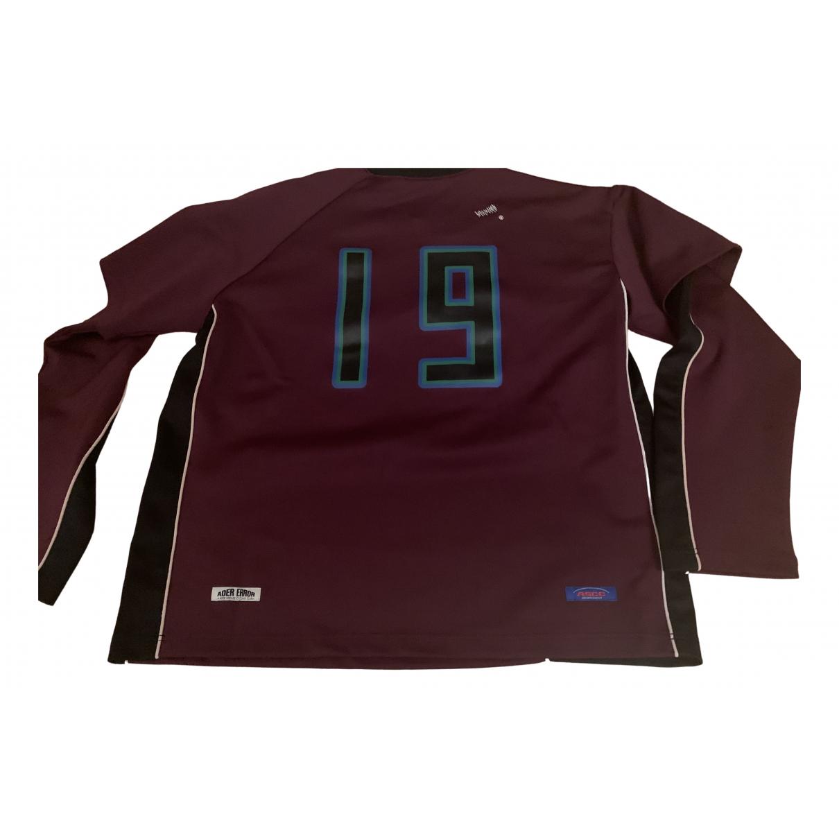 Ader Error N Burgundy Knitwear & Sweatshirts for Men L International