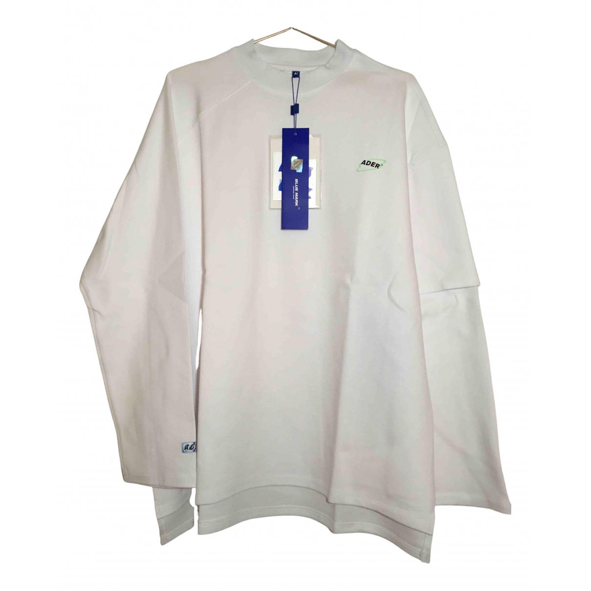 Ader Error N White Cotton Knitwear & Sweatshirts for Men L International