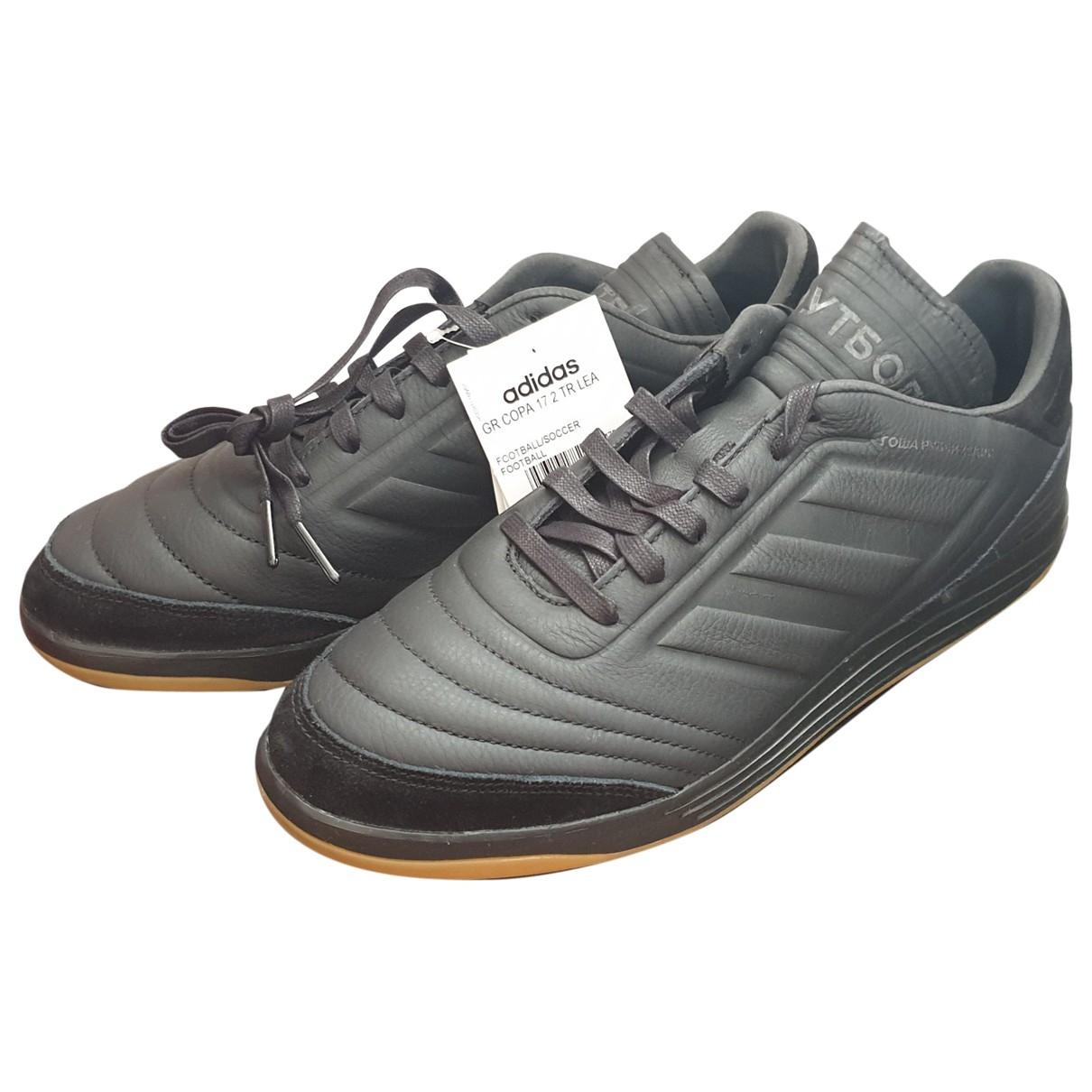 Adidas X Gosha Rubchinskiy N Black Leather Trainers