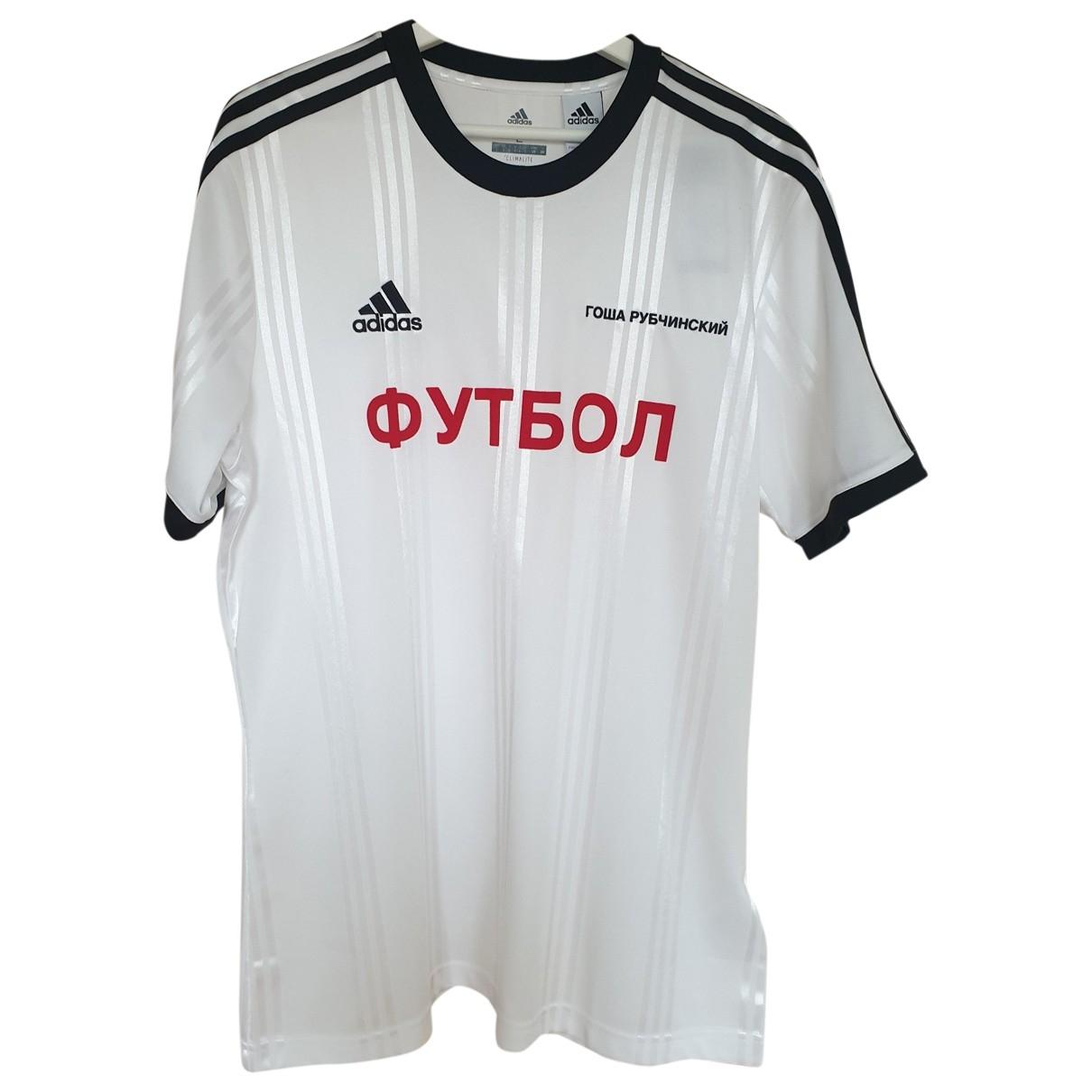 Adidas X Gosha Rubchinskiy N White Synthetic T-shirts
