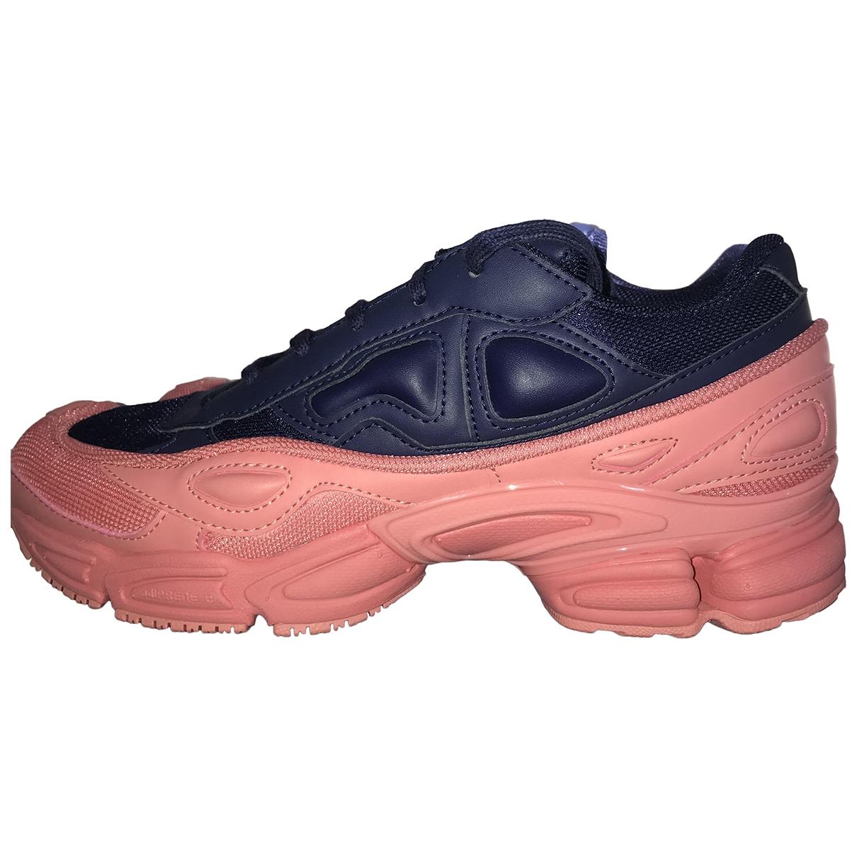 Adidas X Raf Simons Ozweego 2 Pink Cloth Trainers for Women 40 EU