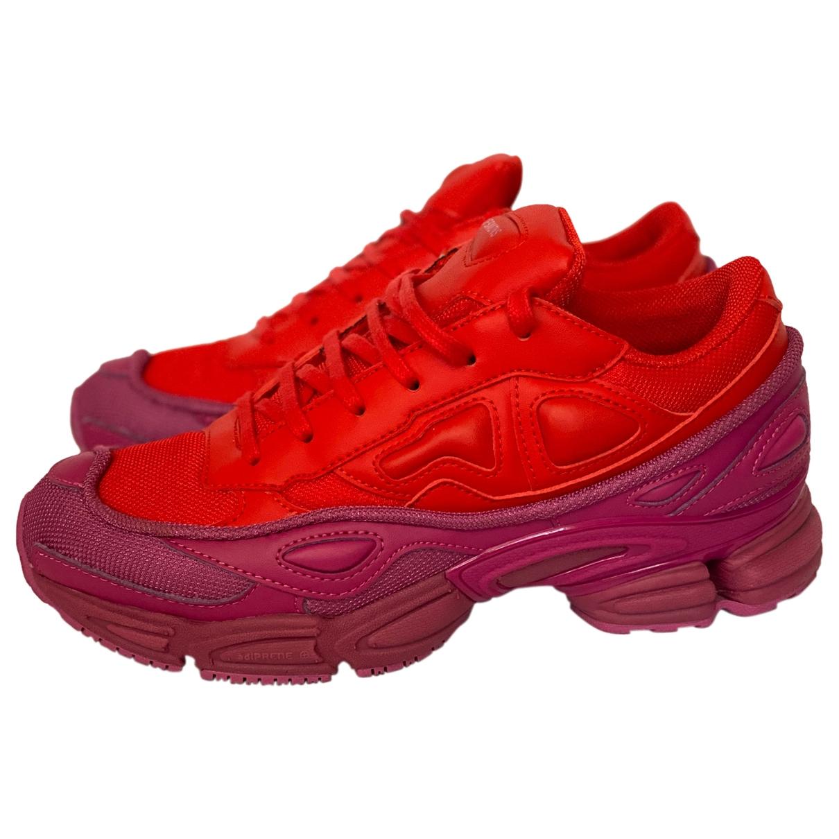 Adidas X Raf Simons Ozweego 2 Red Cloth Trainers for Women 38 EU