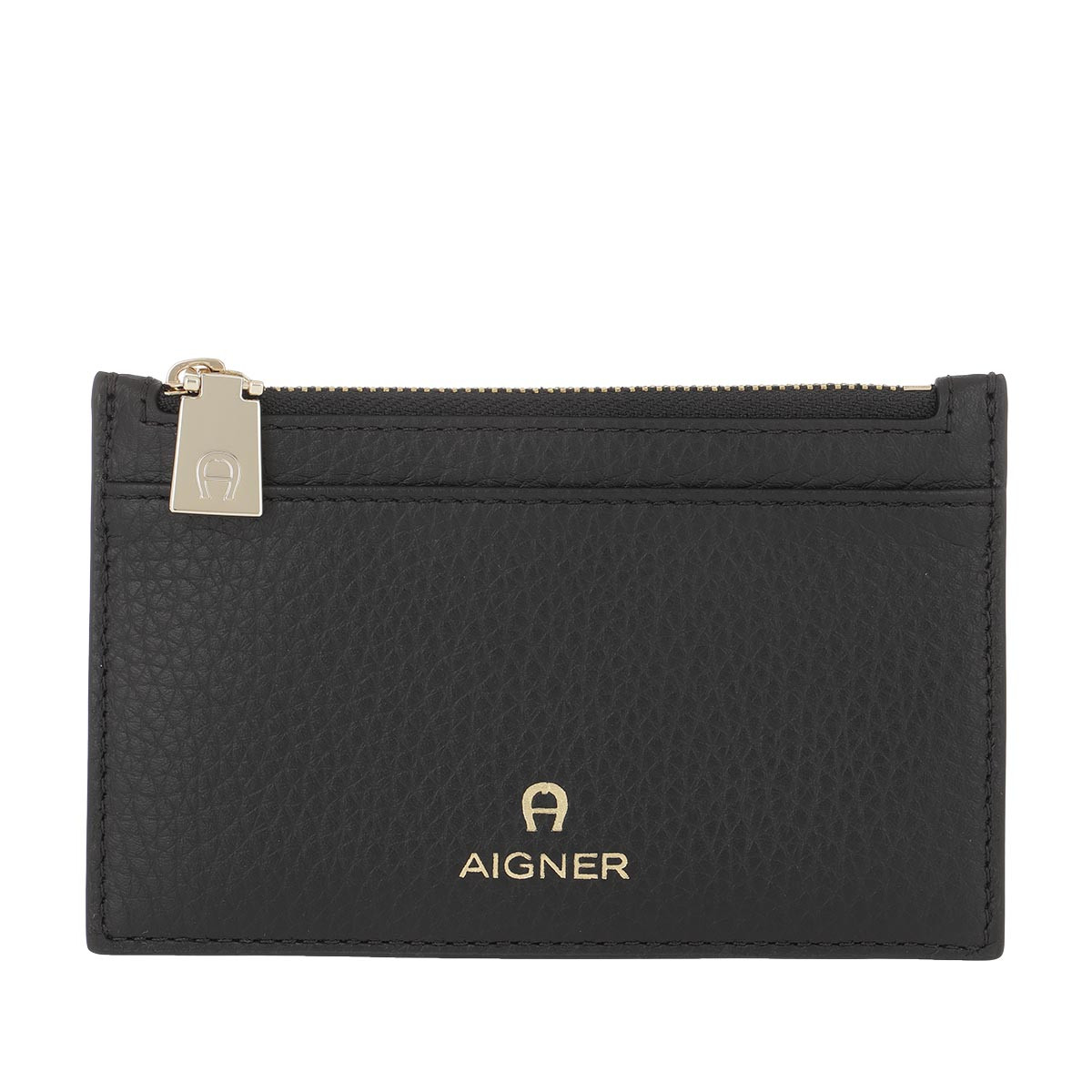 Aigner Portemonnaie - Card Holder Ivy Black - in schwarz - für Damen