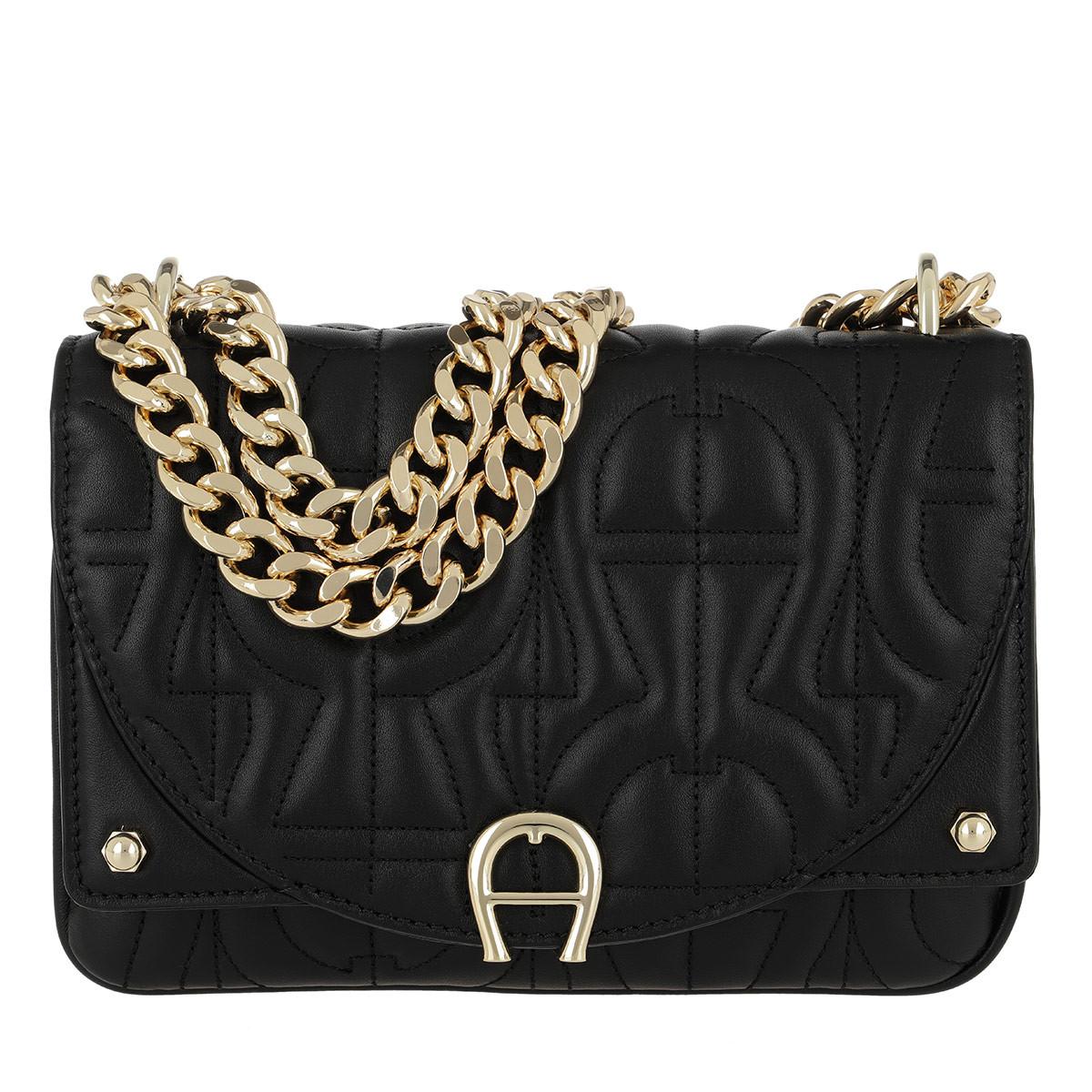 Aigner Umhängetasche - Diadora Crossbody Bag Black - in schwarz - für Damen