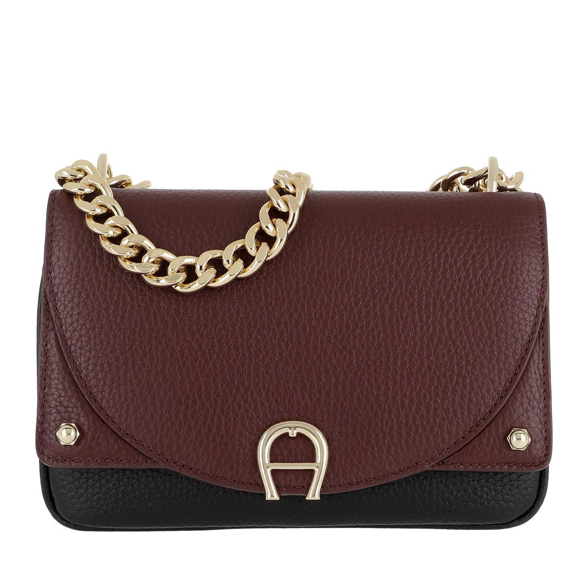Aigner Umhängetasche - Diadora Crossbody Bag Extra Small Burgundy - in lila - für Damen
