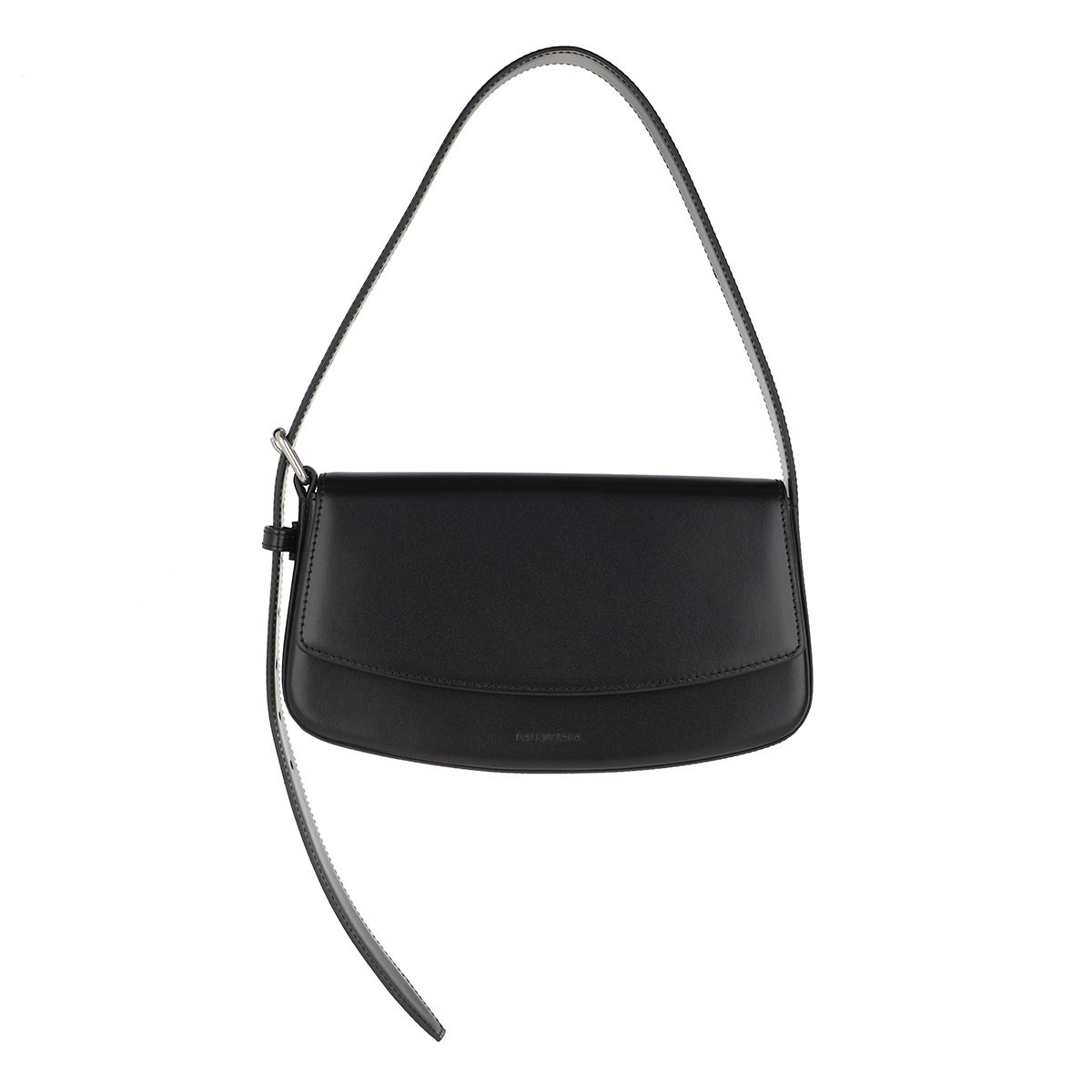 Balenciaga Satchel Bag - Baguette Belt Bag Leather Black - in schwarz - für Damen