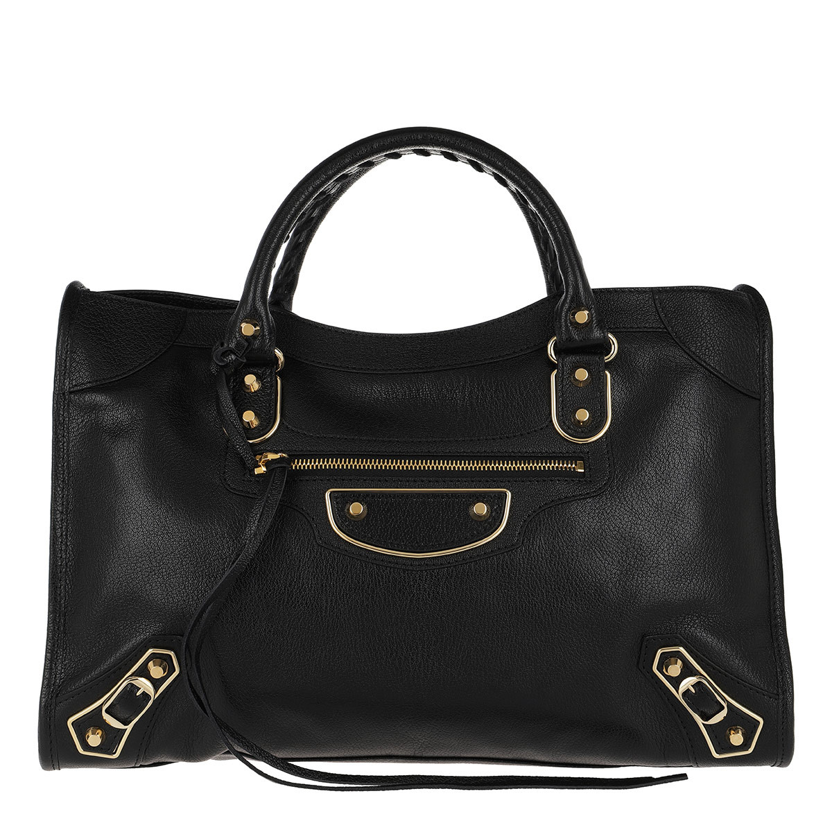 Balenciaga Tote - Metallic Edge Classic City Bag Leather Black - in schwarz - für Damen