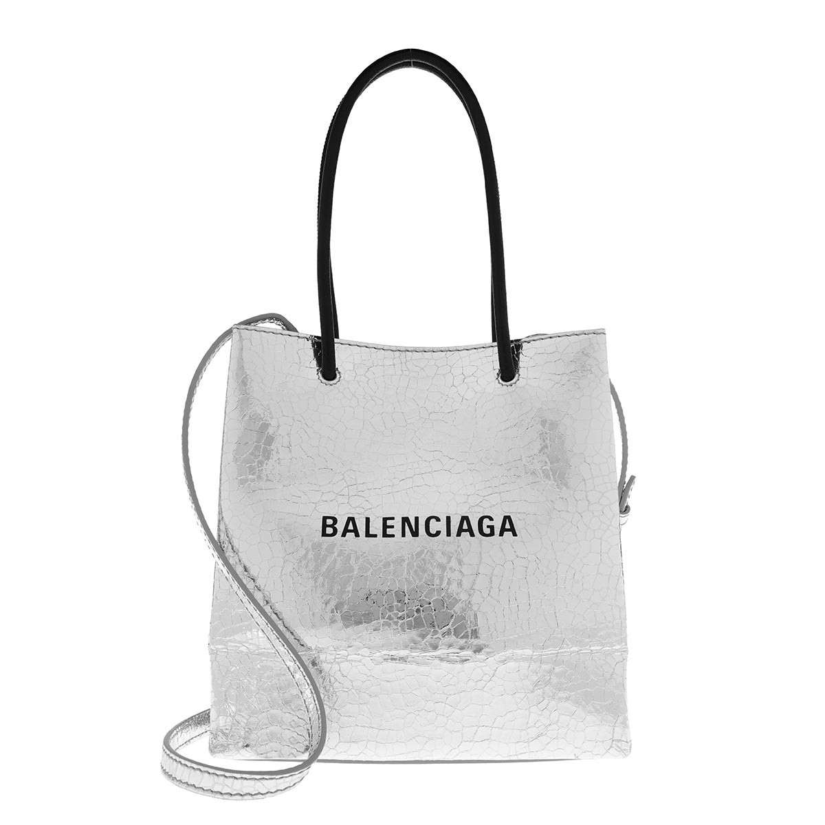 Balenciaga Tote - XXS Shopping Bag Silver - in silber - für Damen