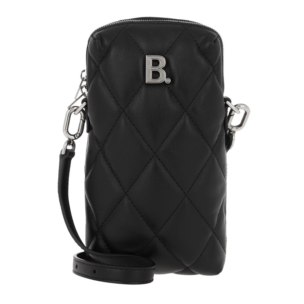 Balenciaga Umhängetasche - B Phone Case Black - in schwarz - für Damen