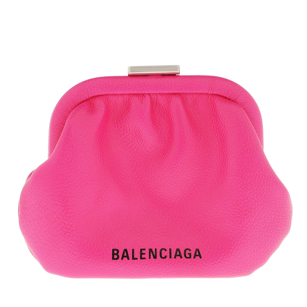 Balenciaga Umhängetasche - Cloudy Grained Crossbody Bag Fuchsia - in pink - für Damen