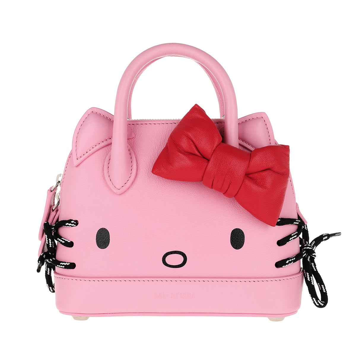Balenciaga Umhängetasche - Kitty XXS Top Handle Bag Pink - in pink - für Damen