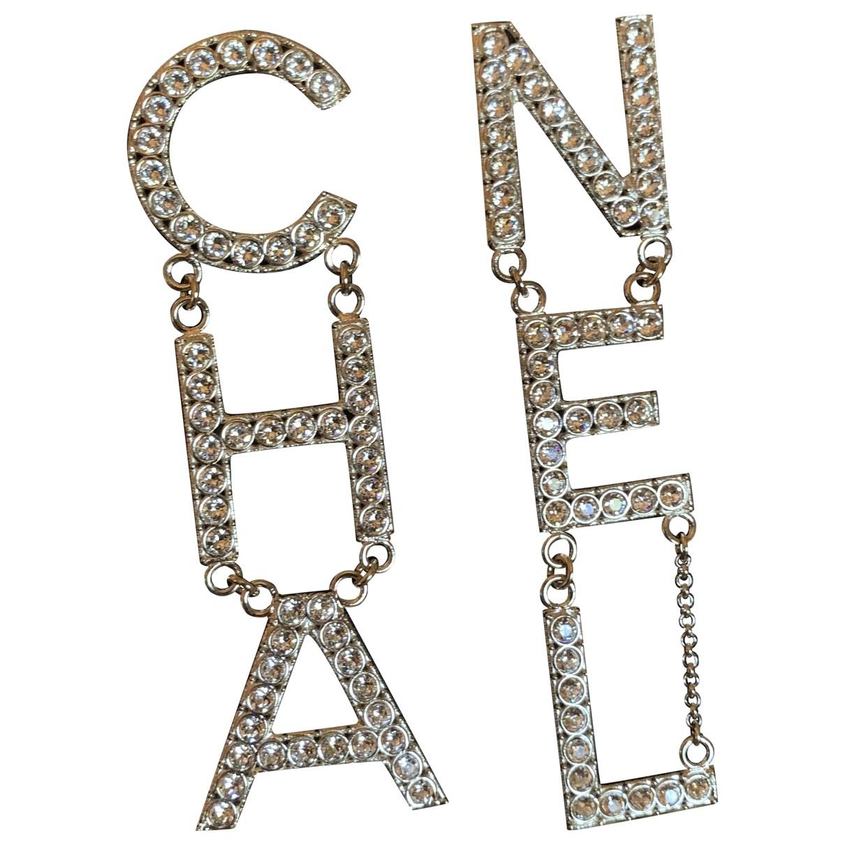 Chanel CHANEL Metal Earrings for Women N