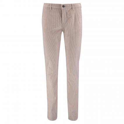Chino-Hose in Cord-Optik