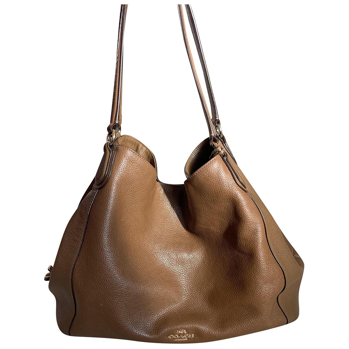 Coach Edie Brown Leather Handbags
