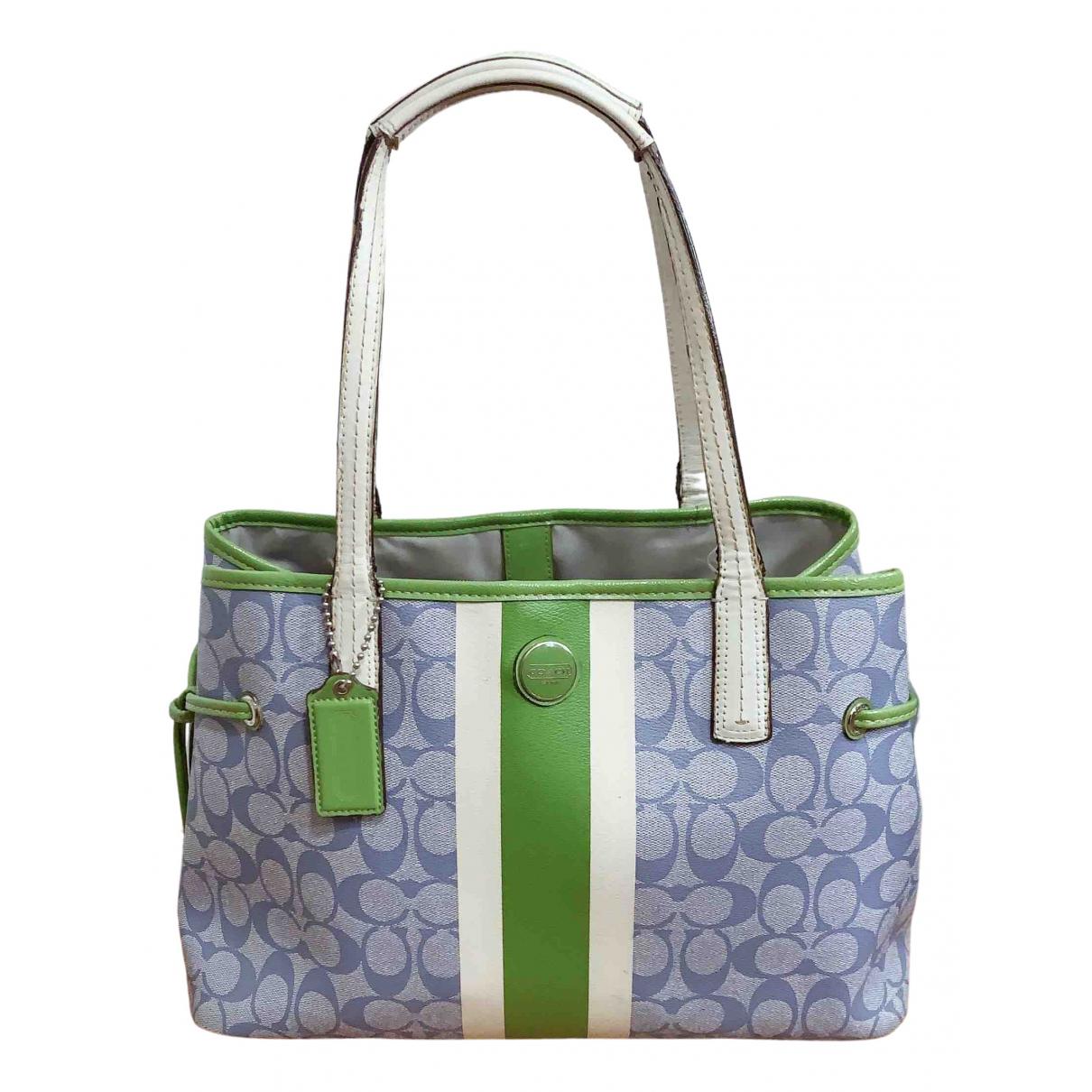 Coach Edie Green Leather Handbags