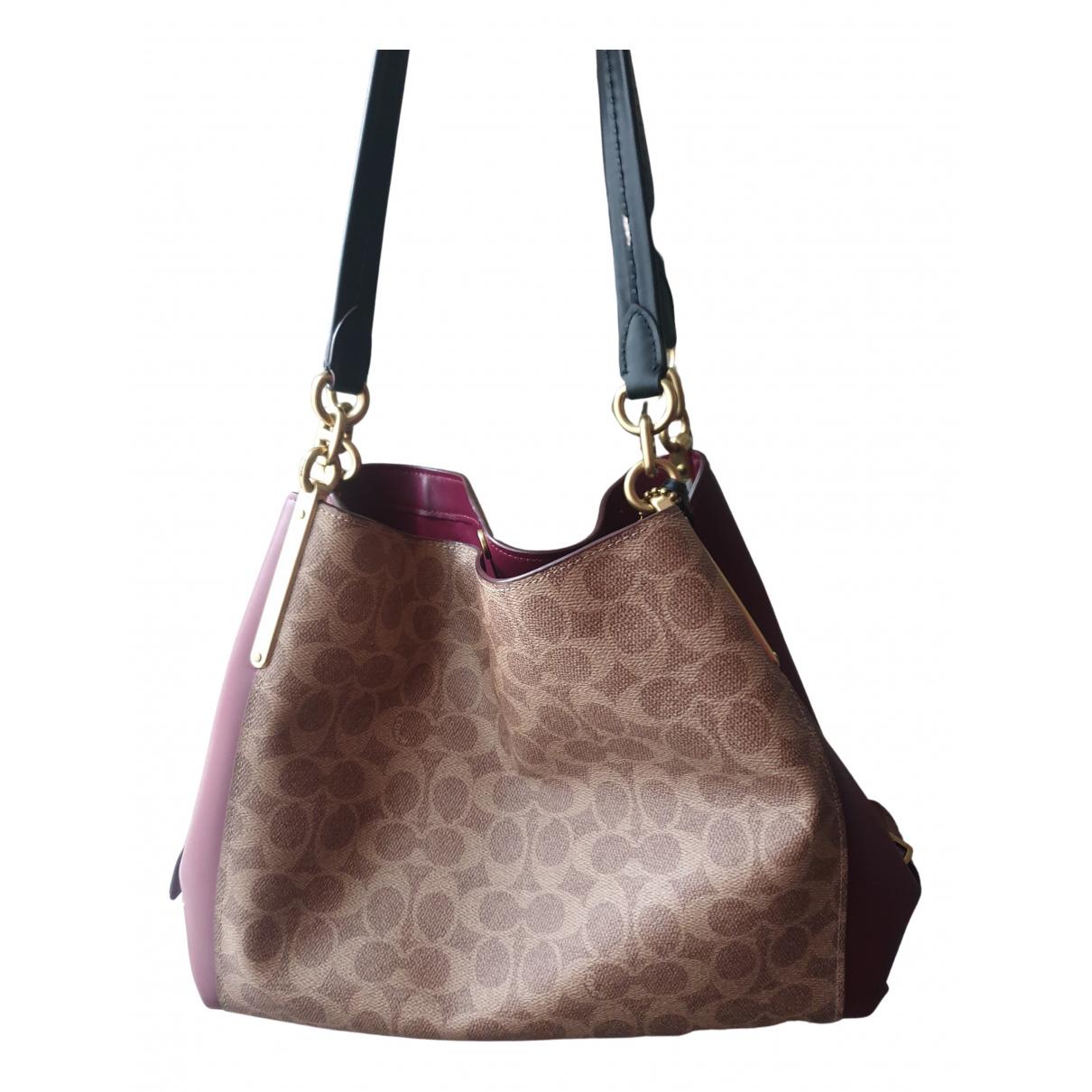Coach Edie Leather handbag for Women N