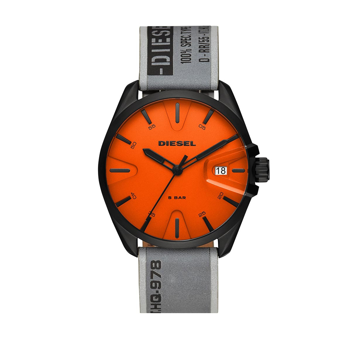 Diesel Uhr - MS9 Men Watch Black/GreySilver - in orange - für Damen