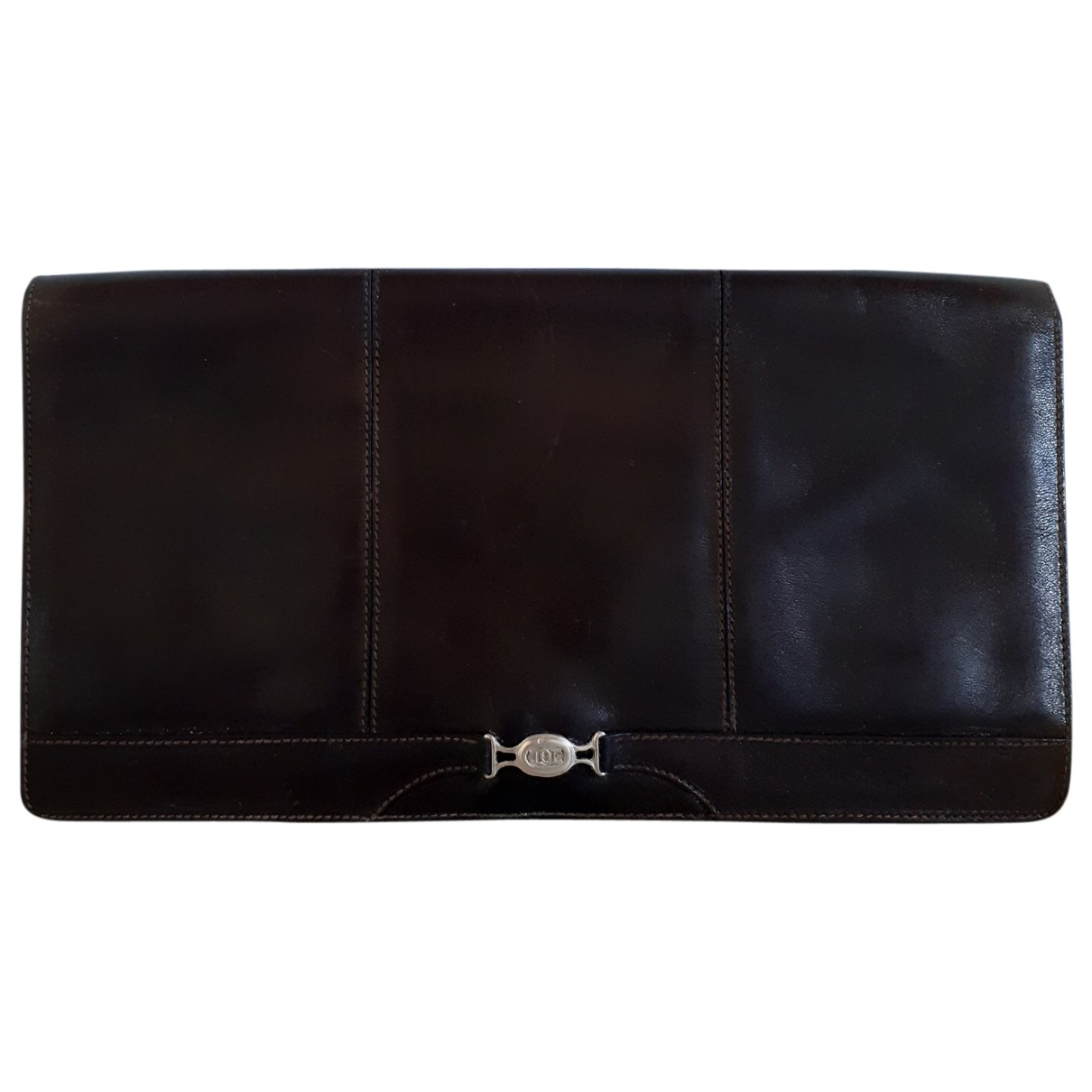 Etienne Aigner N Brown Leather Clutch bag for Women N