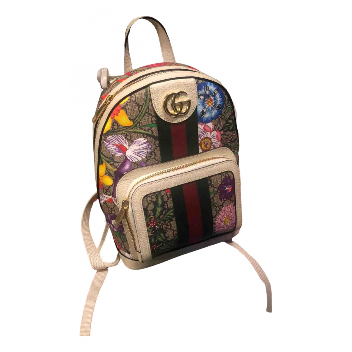 Gucci Marmont Multicolour Leather backpack for Women N