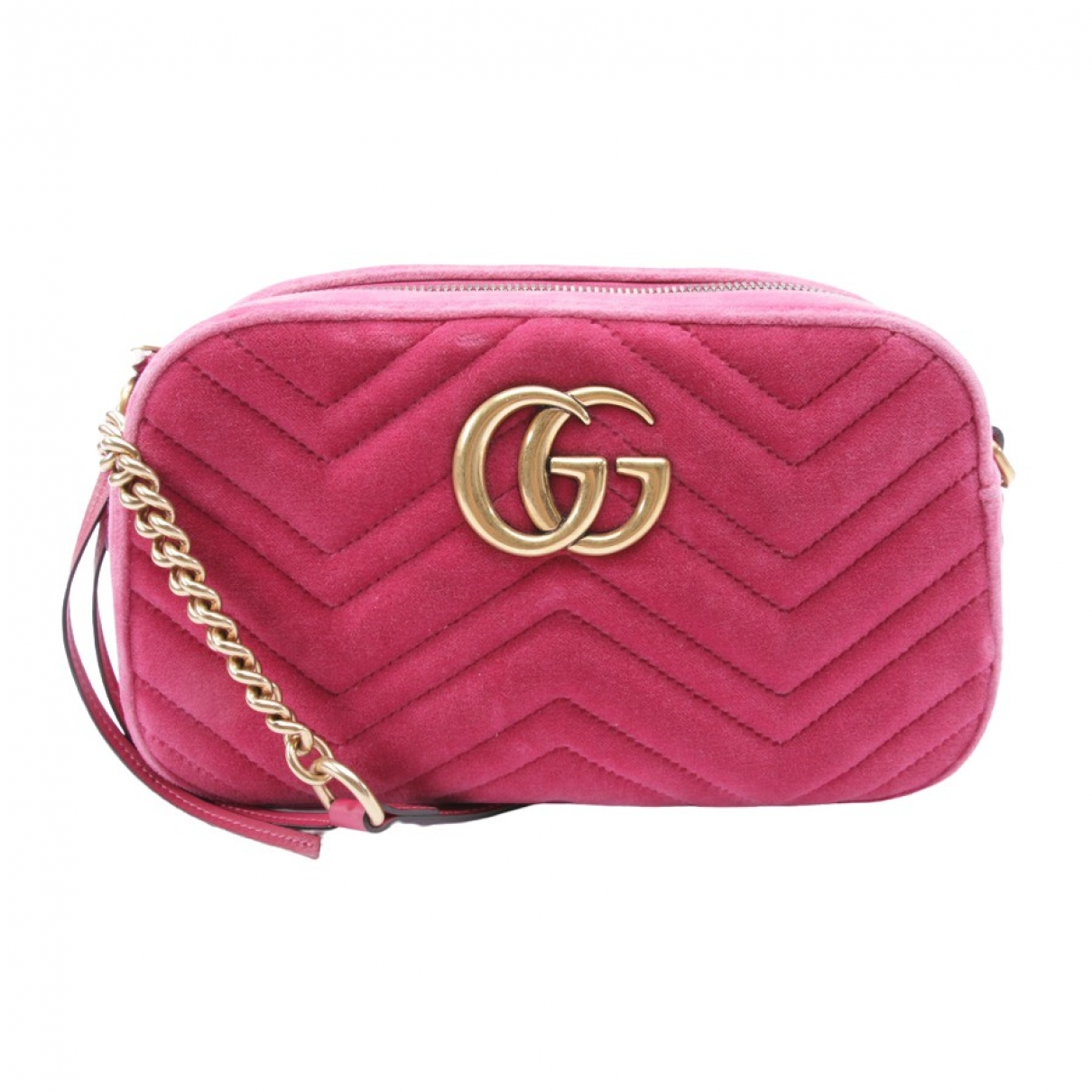 Gucci Marmont Red Cloth Clutch bag for Women N