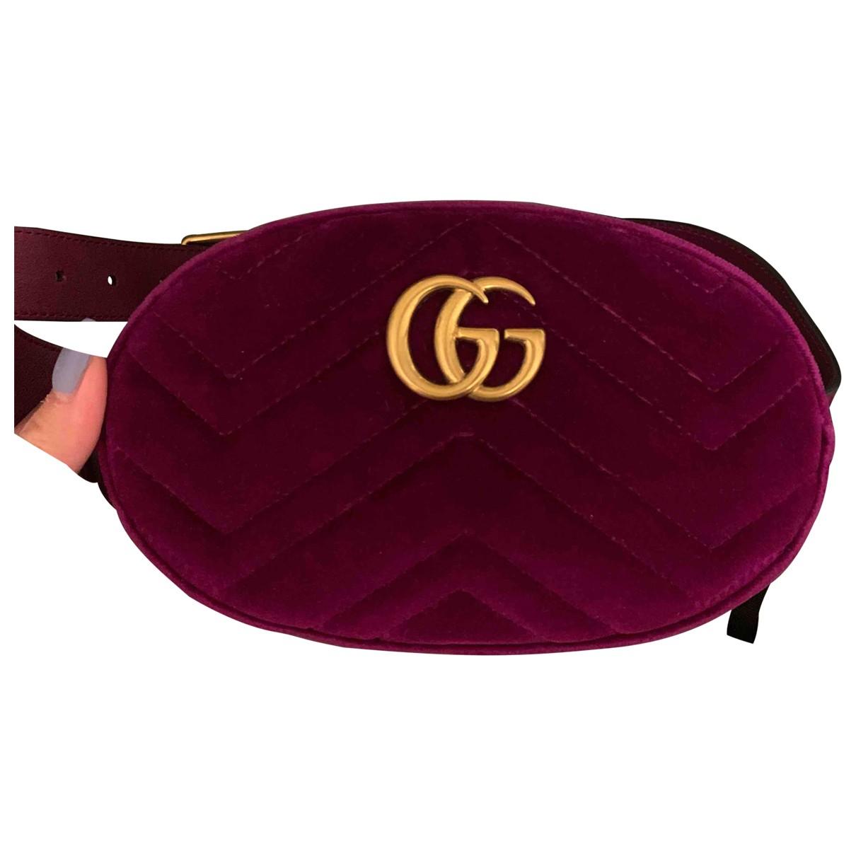 Gucci Marmont Velvet Clutch bag for Women N