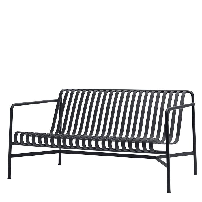 Hay Palissade Lounge Sofa Anthrazit
