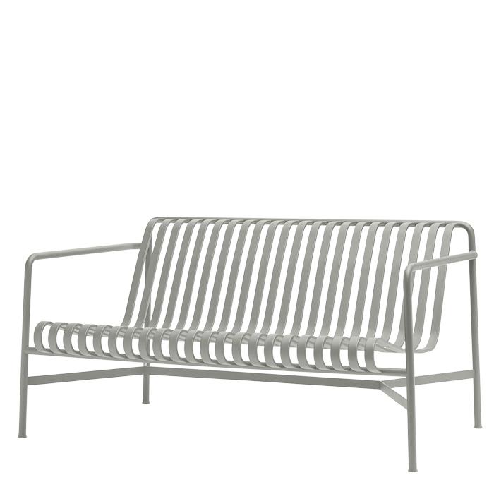 Hay Palissade Lounge Sofa Hellgrau