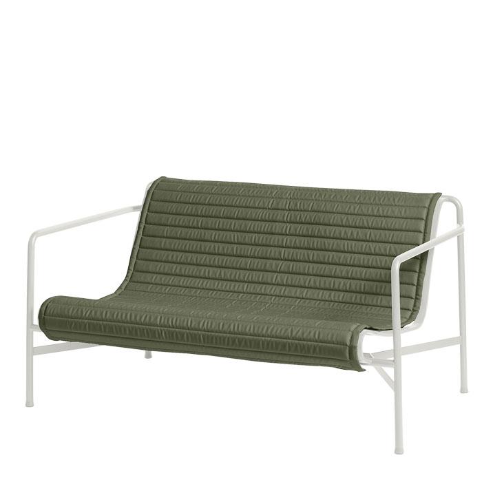 Hay Sitzauflage gesteppt für Palissade Lounge Sofa Olive