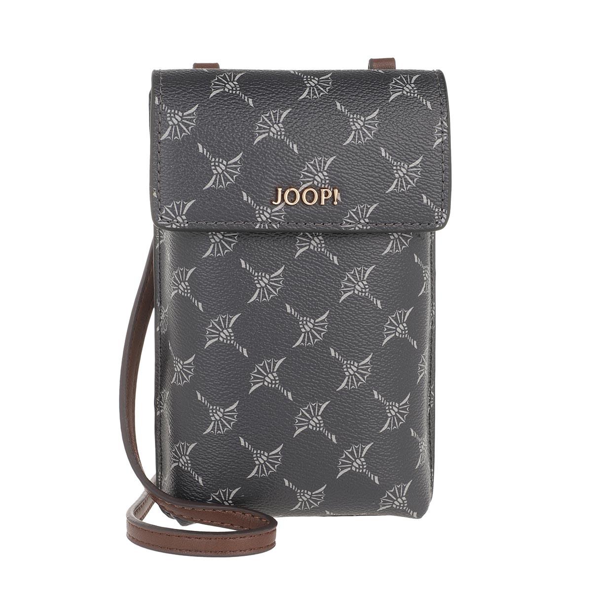 JOOP! Umhängetasche - Cortina Pippa Phone Case Crossbody Dark Grey - in grau - für Damen