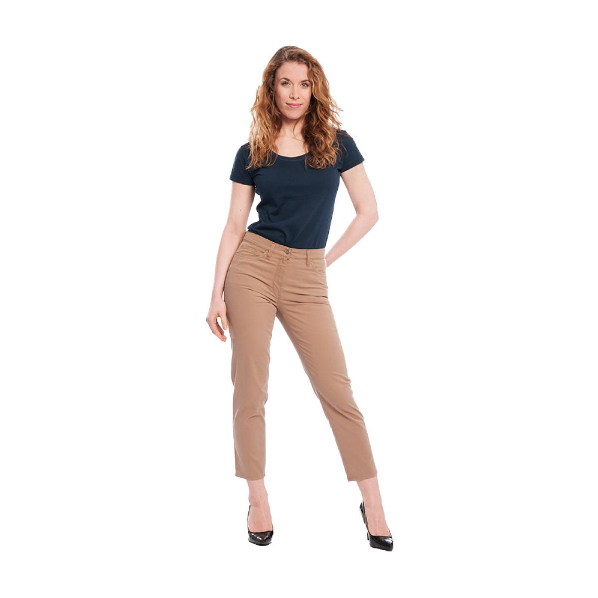Living Crafts Damen Chino Hose Bio-Baumwolle