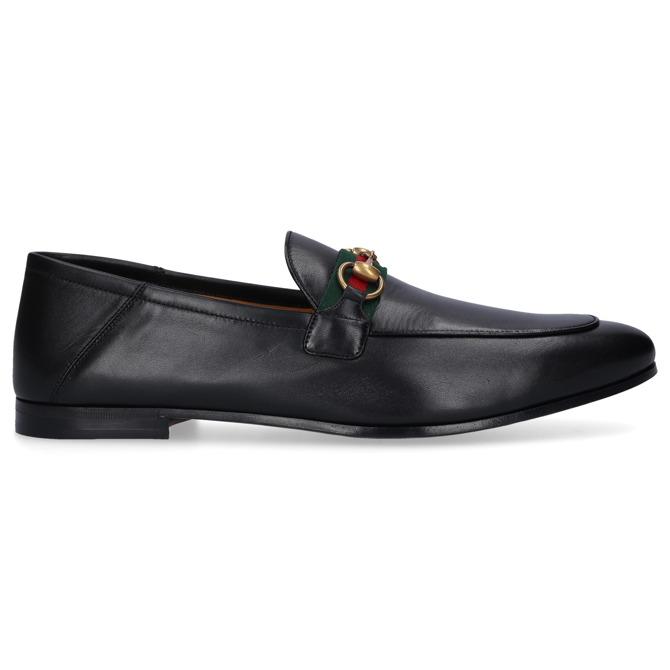 Loafer DLCC0 Kalbsleder Horsebit-Detail schwarz
