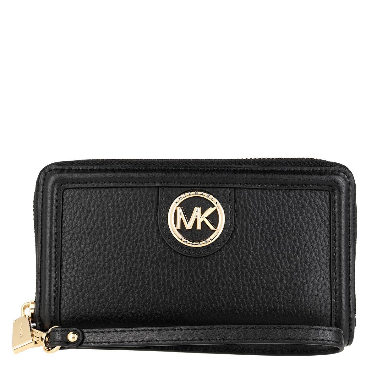 Michael Kors Portemonnaie - Large Flat Phone Case Black - in schwarz - für Damen
