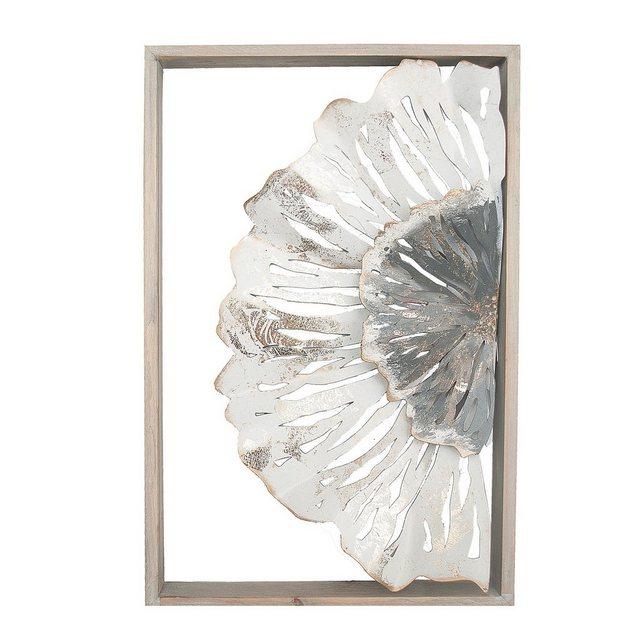 "NTK-Collection Wanddekoobjekt ""Wanddeko Silhouette Blüte"" (1 Stück)"