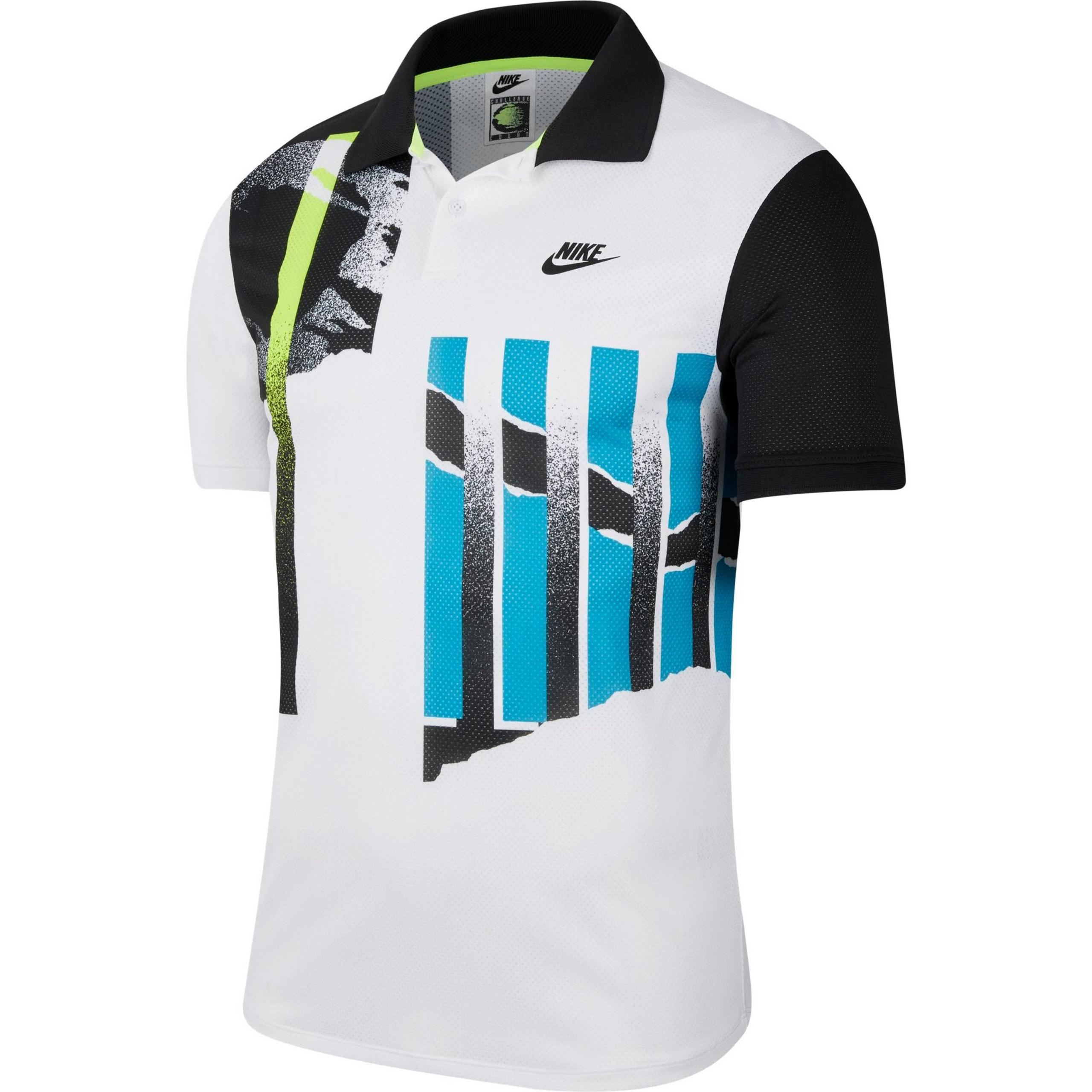 Nike Court Advantage Tennis Polo Herren