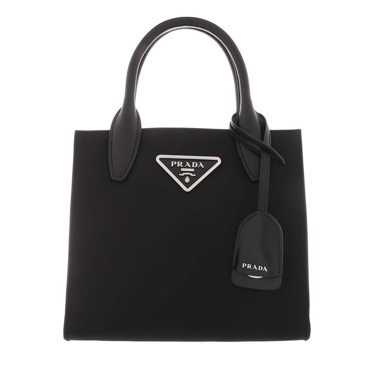 Prada Tote - New Logo Crossbody Leather Black - in schwarz - für Damen