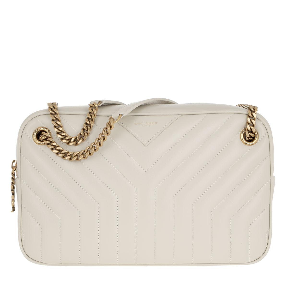 Saint Laurent Umhängetasche - Joan Camera Bag Crema Soft - in beige - für Damen