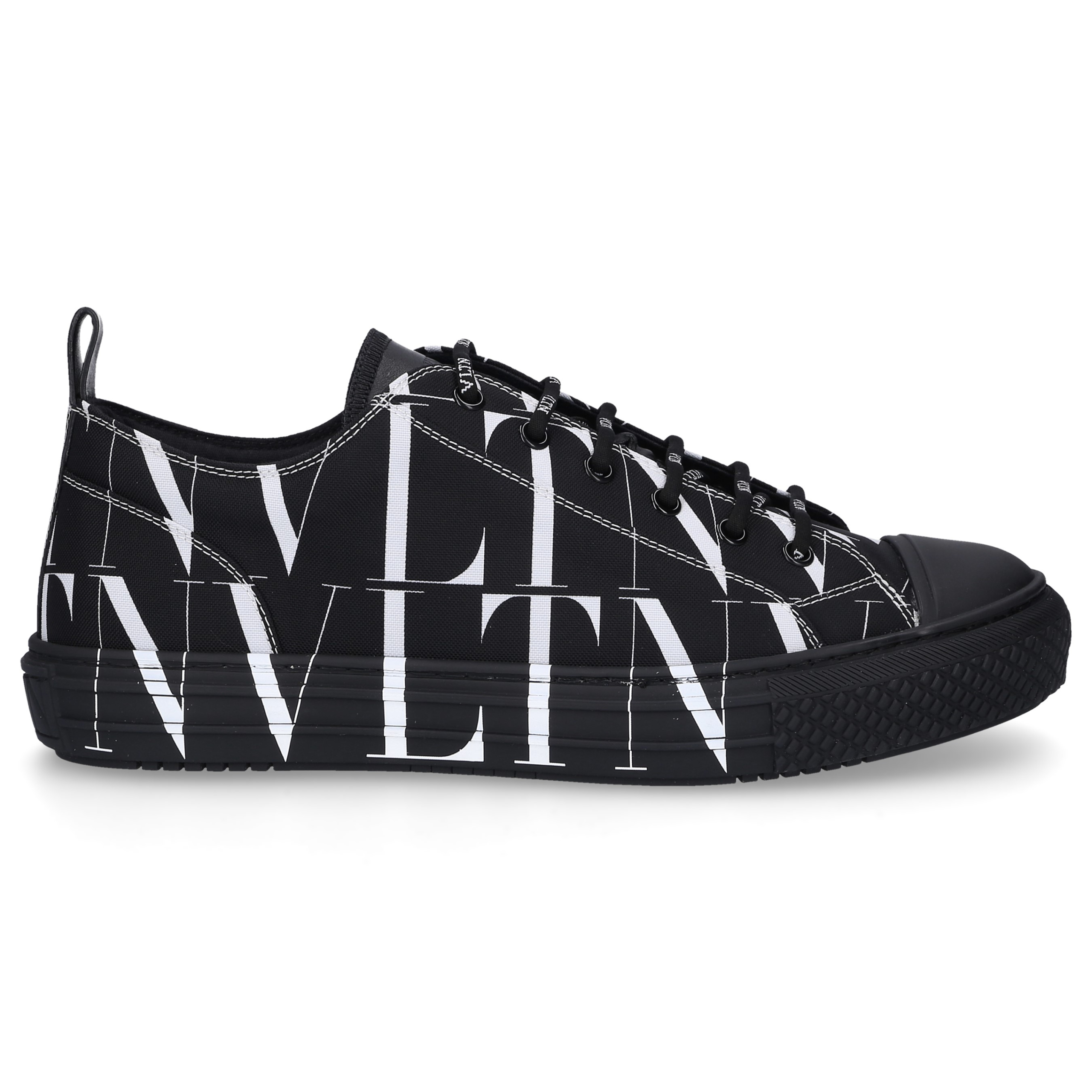 Sneaker low GIGGIES VLTN Textil Logo schwarz-kombi