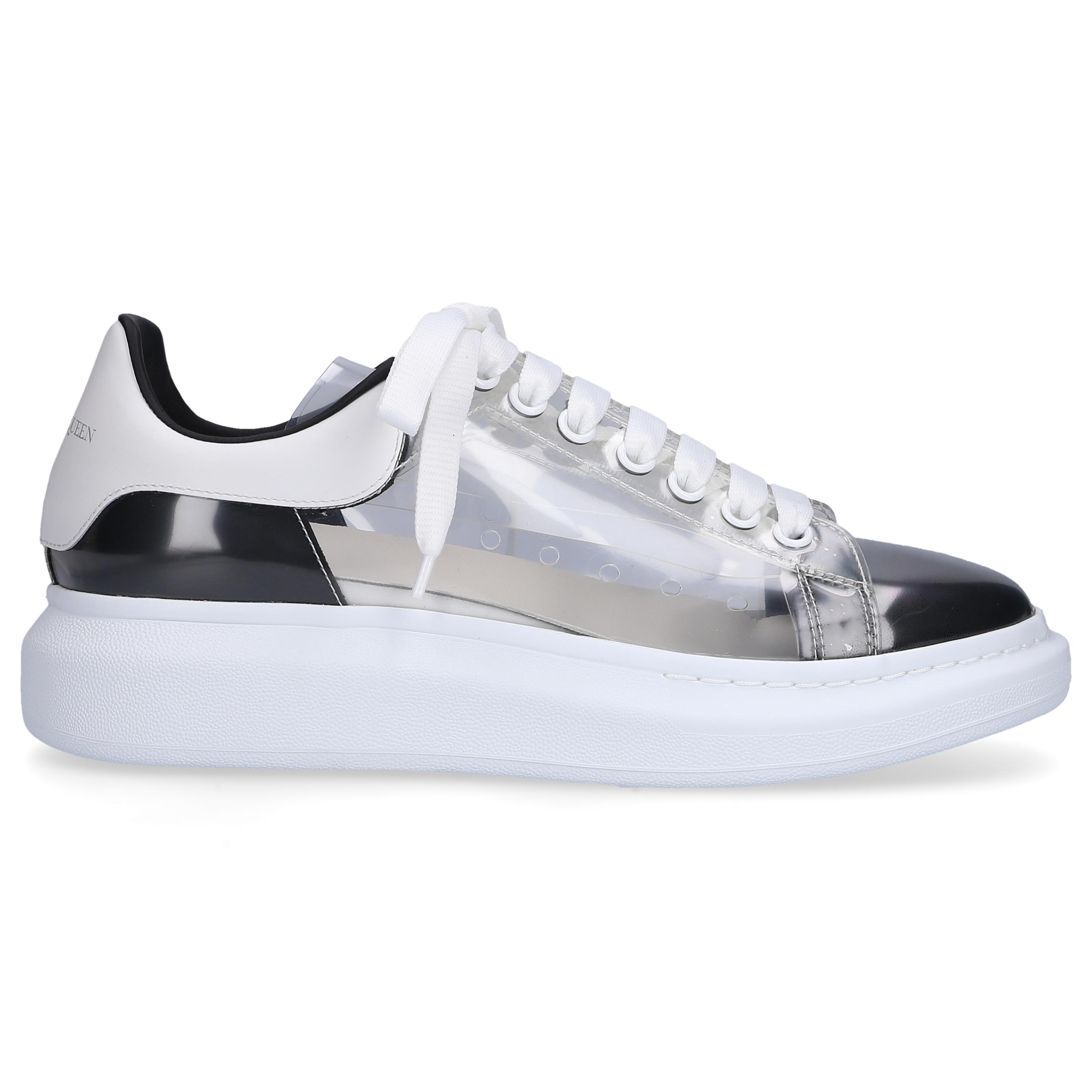 Sneaker low LARRY Polyurethan PVC Logo schwarz transparent